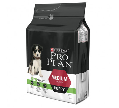 Pro Plan Puppy Medium Optistart 3kg