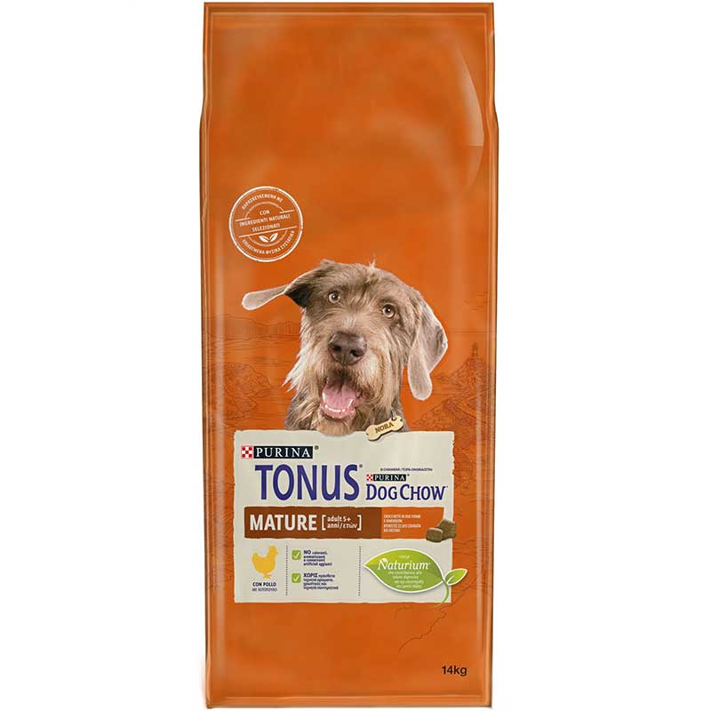 Tonus Dog Chow Mature Adult 5+ Chicken 14kg
