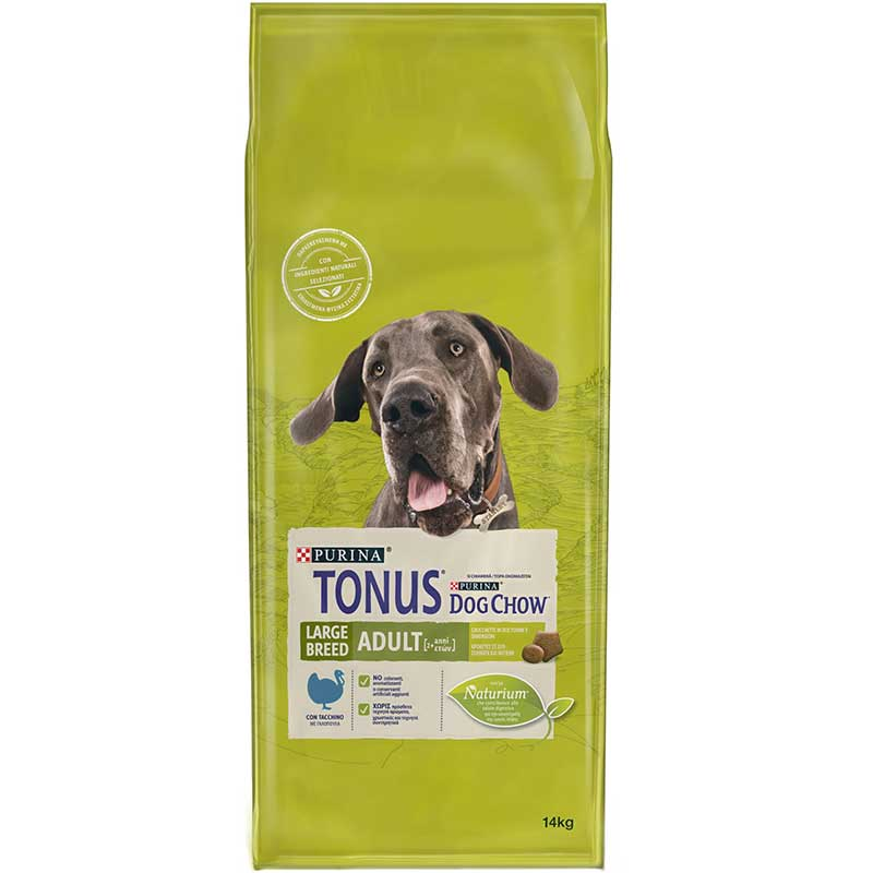 Tonus Dog Chow Adult Large Breed Turkey 14kg