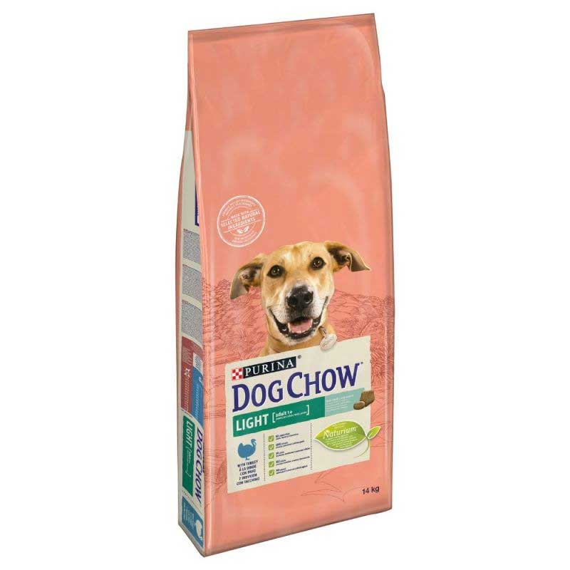 Tonus Dog Chow Adult Light Turkey 14kg
