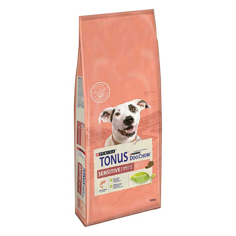 Tonus Dog Chow Adult Sensitive Salmon 14kg