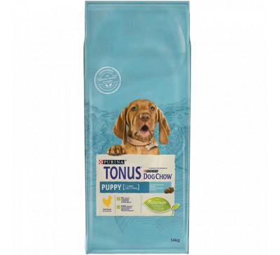 Tonus Dog Chow Puppy Chicken 14kg