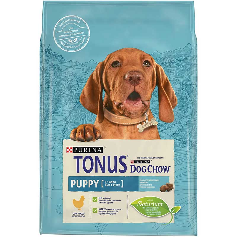 Tonus Dog Chow Puppy Chicken 2,5kg