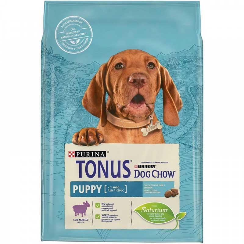 Tonus Dog Chow Puppy Lamb 2,5kg