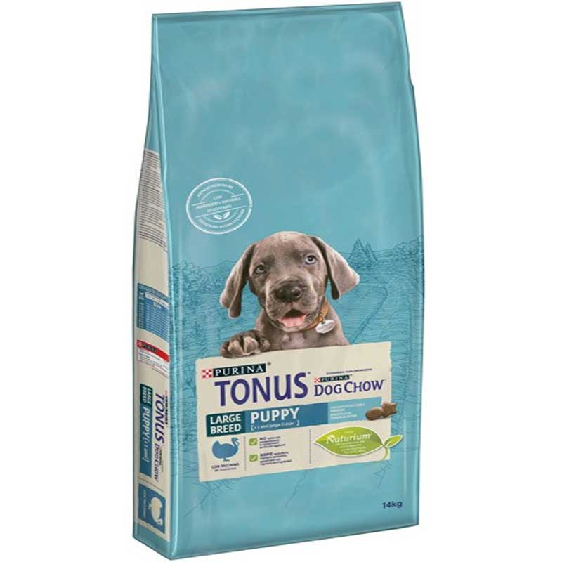 Tonus Dog Chow Puppy Large Breed Turkey 14kg