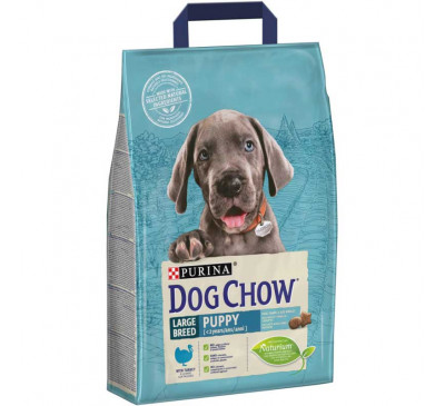 Tonus Dog Chow Puppy Large Breed Turkey 2,5kg