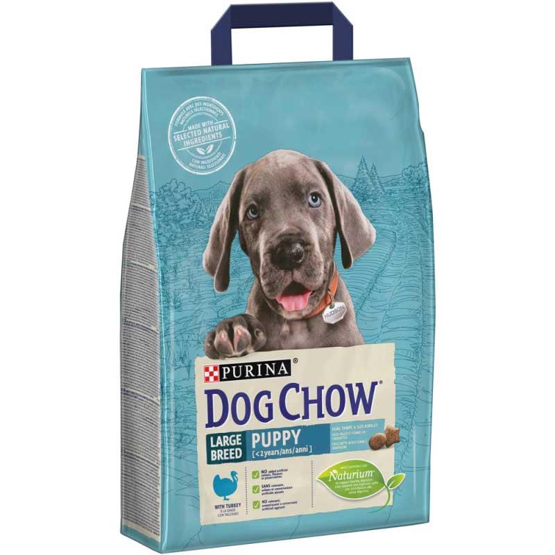 Tonus Dog Chow Puppy Large Breed Turkey 2,5kg