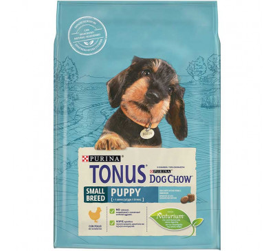 Tonus Dog Puppy Small Breed Chicken 2,5kg